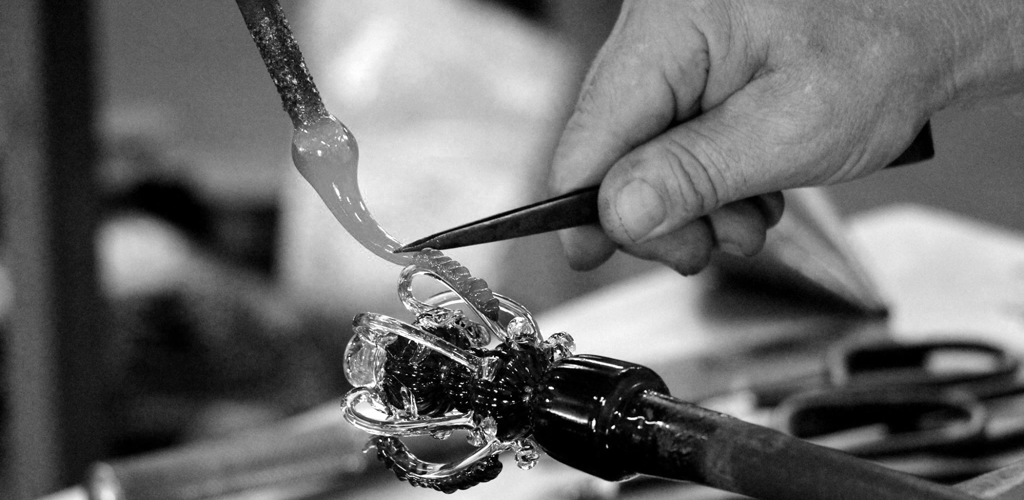 Davide Fuin Glass Master in Murano Italy